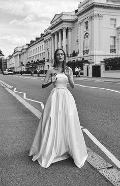 Liz Martinez Bridal Collection  Photography: www.LironWeissman.com Production:Hagay Dor Makeup & Hair:Victoria Todd Model:Judith Leclerc for Elite London  Bridal, Brides, Weddings, bridal dress, bridal designer, wedding dress
