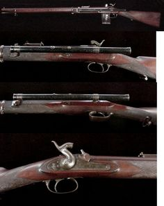 Confederate Whitworth Rifle In 1854 Sir Joseph Whitworth of England patented a rifle with a twisted hexagonal bore and then molded specially shaped bullets to match the .451 bore. When outfitted with a Davidson patent telescopic sight, this firearm had an effective range of 1,500 yards and could strike with deadly effect at even longer ranges. There is a great deal of difference in measurements and markings found on telescope mounted Whitworth rifles issued to the Confederate sharpshooters…