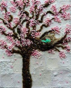 embroidered cherry tree (tersessenta)