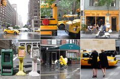 NewYork in Color : Yellow