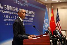 De Amerikaanse president Barack Obama heeft zaterdag op bezoek in China…