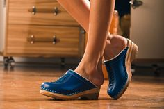 Wright Clogs Blue