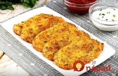 Does the cafe on the corner sell the best potato pancakes of all time? Potato Recipes, Veggie Recipes, Lunch Recipes, Cooking Recipes, Healthy Recipes, Fast Dinners, Quick Meals, No Cook Meals, Slovak Recipes