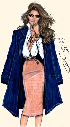 New fashion sketches dresses hayden williams ideas Fashion Art, New Fashion, Trendy Fashion, Fashion Models, Fashion Beauty, Girl Fashion, Classic Fashion, Dress Fashion, Paper Fashion