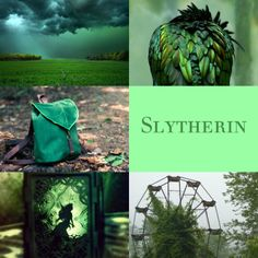 The Kraken's Daughter | Slytherin aesthetics