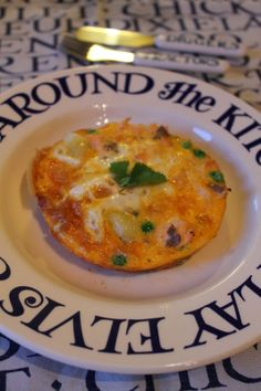 A Little Bit Greedy: Toddler teatime: salmon and pea frittata