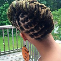 Hair Steamers for Natural Hair - The Secret Is Out! Dreadlock Styles, Dreadlock Hairstyles, Cool Hairstyles, Dreads Styles, Layered Hairstyles, Loc Updo, Natural Hair Styles, Short Hair Styles, Sleek Updo