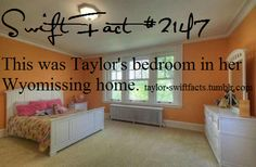 Taylor Swift facts That actually is a pretty nice room! ^-^ 2 Please visit our website @ https://22taylorswift.com