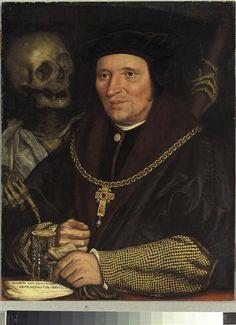Holbein Hans, le Jeune (1497-1543) - Portrait de Sir Brian Tuke