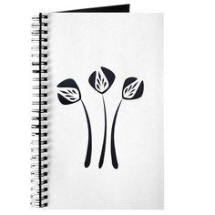 Cute Chic Tulips Journal #gardener #gift $9.99