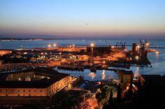 #adriatic sea #ancon #brands #city #italy #landscape #monument #porto #sea #sunset