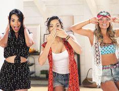 Scarlet Gruber, Ana Lorena Sanchez, & Kimberly Dos Ramos #tierradereyes Tierra de Reyes