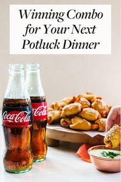 Winning Combo for Your Next Potluck Dinner. Here's why Coca-Cola is an essential for potluck dinners. Chinese Street Food, Thai Street Food, Potluck Dinner, Dinner Party Recipes, Easy College Meals, Healthy Cooking, Eating Healthy, Tasty Dishes, Coke