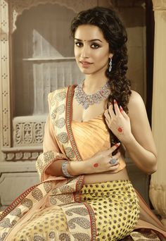 Shraddha Kapoor #Saree. find more women fashion ideas on www.misspool.com