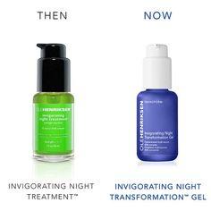invigorating night transformation™ gel