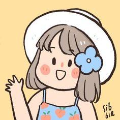 """ซิบบิล🐭 บนทวิตเตอร์: """"Everything will be ok…… """" Cartoon Art Styles, Cartoon Drawings, Easy Drawings, Character Art, Character Design, Cute Cartoon Wallpapers, Korean Art, Kawaii Wallpaper, Cute Illustration"""