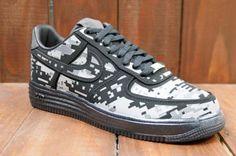 NIKE LUNAR FORCE 1 DIGI NRG BLACK/REFLECT SILVER-DARK GREY #sneaker