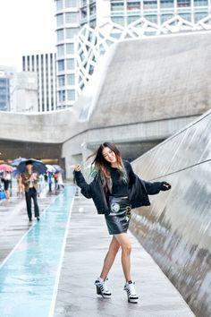 Street style: Irene Kim at Seoul Fashion Week Spring 2015