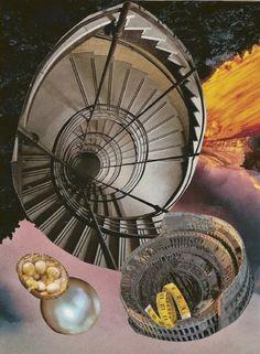 """collage, """"Nautilus Galaxies"""""""