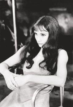 Audrey Hepburn par Richard Avedon 1965