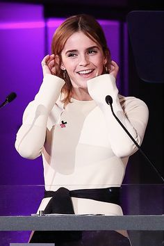 Emma Watson at the HeForShe Turns Two Event in New York (09/20/16)