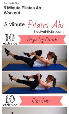 Five Minutes Ab Workout
