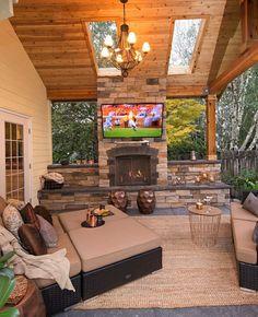 The Happiness of Having Yard Patios – Outdoor Patio Decor Backyard Patio Designs, Backyard Landscaping, Back Yard Patio Ideas, Diy Patio, Diy Pool, Budget Patio, Patio Shed Roof Ideas, Outdoor Patio Decorating, Backyard Porch Ideas