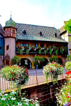 The Town Hall in Colmar France