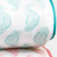 Rikshaw Design Taj Aqua Full/Queen Duvet Cover