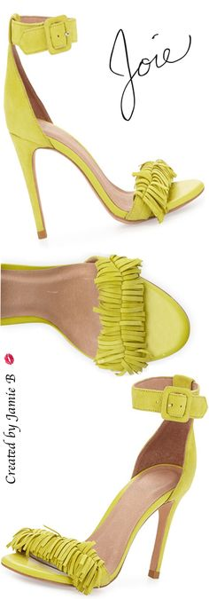 Trending 2015 - Joie | Pippi Naked Suede Fringe Sandal |  my sexy shioes2