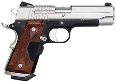Cabela's: SIG Sauer® 1911 Centerfire Pistols ...  Comes with a crimson trace burlwood laser grip and night sights...