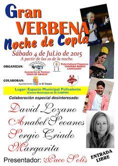 La Crónica del Alto Guadalquivir: El Carpio acoge el 4 de julio la Gran Verbena de l...
