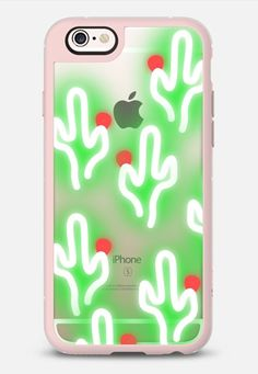 Casetify iPhone 7 Case and Other iPhone Covers - Neon Cactus   #Casetify