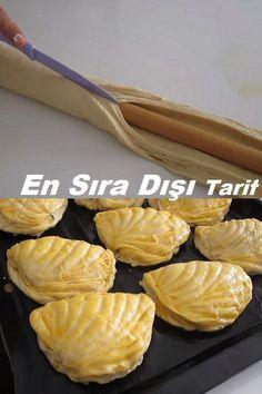 Turkish Recipes, Ethnic Recipes, Turkish Breakfast, Croissants, Diy Stuffed Animals, Ham, Almond, Garlic, Food And Drink