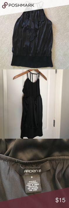 Arden B. Silk top Arden B. Silk strappy top. Only worn a few times, EUC! Arden B Tops Blouses
