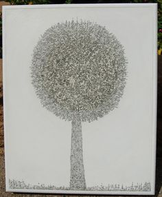 MicroDoodle Topiary  No 33333 by MagneticOriginals on Etsy, $8000.00