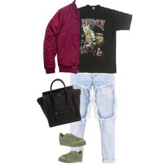 by anurbanlegend on Polyvore featuring polyvore, fashion, style, adidas and clothing