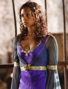 Angel Coulby as Gwen #Merlin oh yeah THIS episode!! where they thought Gwen was Morgana but Uther wouldn't go after her since she was just a servant and Arthur snuck out to save her!! awww and the beginnings of Arwen:)