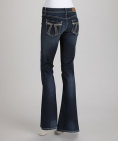 Take a look at this Blue Tower 7 Sassy Flare Jeans by Seven7 on #zulily today!--this is my FAVORITE brand of jeans of all time--the comfiest things ever--I love every pair (no matter what style) I have ever bought!  LOVE, love, love them!!!
