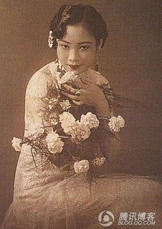 Hu Die 胡蝶,most famous film star in 1930s Shanghai