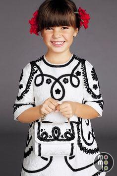 Ideas Children Clothes Girls Fashion Kids Dolce & Gabbana For 2019 Fashion Kids, Little Girl Fashion, Little Girl Dresses, Girls Dresses, Fashion Clothes, Kids Outfits Girls, Kids Girls, Girl Outfits, Vestidos Dolce Gabbana