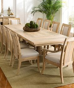 Look what I found on #zulily! Sandlewood Rectangle Cimarron Table #zulilyfinds