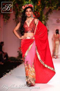 Falguni & Shane Peacock Aamby Valley India Bridal Week 2013 | Lehengas & Sarees | Bigindianwedding