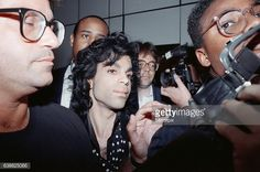 Prince - Lovesexy Tour, Heathrow Airport, photo by Chris Grieve, 1988