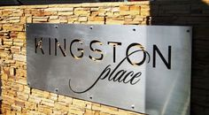 Metal Fabricated Signs Melbourne | Laser Cut Metal Signage | Pierre Le Roux Design