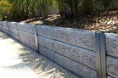 Ridgi Gumtree Concrete Sleepers Available In Bunnings Stores with regard to measurements 5184 X 3456 Bunnings Treated Pine Fence Rails - When you Retaining Wall Drainage, Concrete Sleeper Retaining Walls, Wooden Retaining Wall, Concrete Sleepers, Landscaping Retaining Walls, Front Yard Landscaping, Picket Fence Panels, Front Fence, Sleepers In Garden
