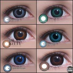 Eyelush Series #cosplayers #ohmykittydotcom #contacts #circlelenses #popular #cosplay #eyes #makeup
