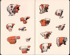 "asteroidbeltblues: ""The Fleet. A selection of ships of The Outer Planets Alliance. All in the traditional orange livery of the OPA. The flyers, freighters, cargo ships, skiffs, tugs and tankers are the life-blood of trade between Earth and."