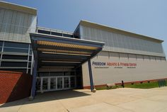 Freedom Aquatic and Fitness Center on the Prince William Campus. Photo courtesy of Creative Services, George Mason University