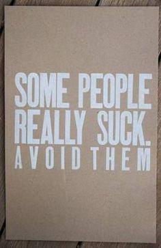 Please. Avoid them.